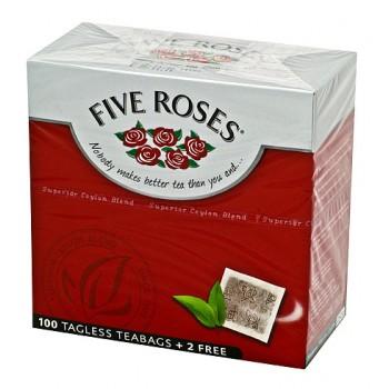 FIVE ROSES 100 TEA BAGS