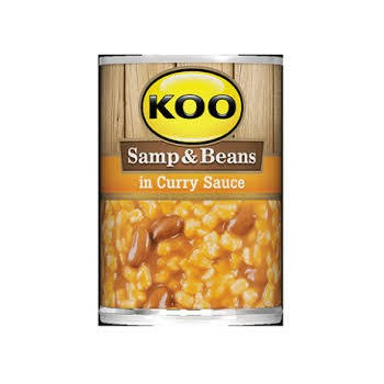 KOO SAMP & BEANS (Curry Sauce)