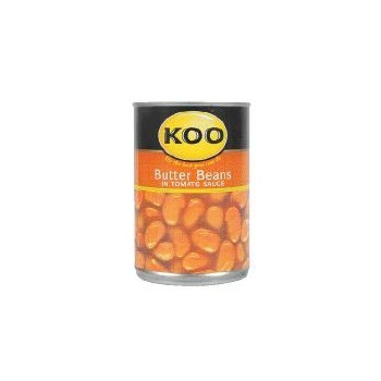 KOO BUTTER BEANS IN TOMATO...