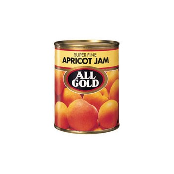 ALL GOLD APRICOT JAM...