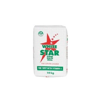 WHITE STAR MAIZE MEAL 10KG