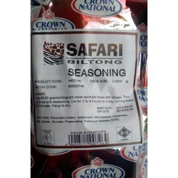 Biltong Spice 2kg (Safari )