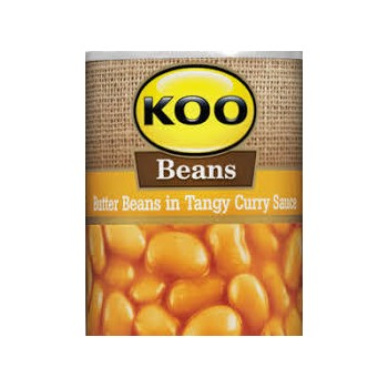 KOO  BUTTER BEANS in Curry...