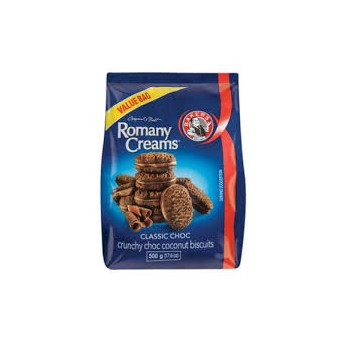 BAKERS ROMANY CREAMS...
