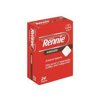 RENNIES PEPPERMINT 24S