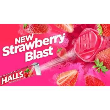 HALLS STRAWBERRY BLAST
