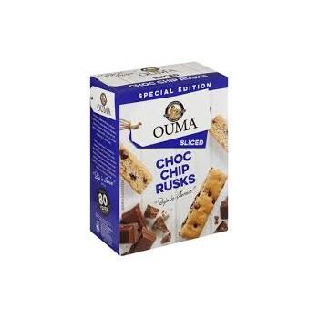 OUMAS RUSKS CHOC CHIP 450g