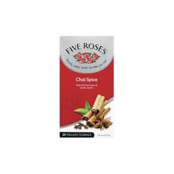 FIVE ROSES Chai tea 20s