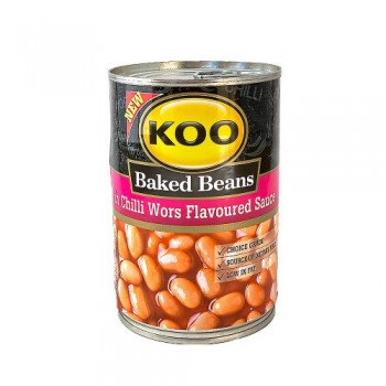 KOO BAKED BEANS IN CHILLI...