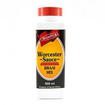 scalli's worcester sauce...