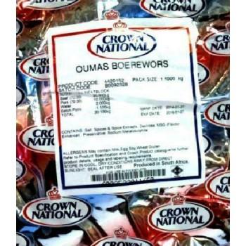 CROWN NATIONAL - OUMAS...