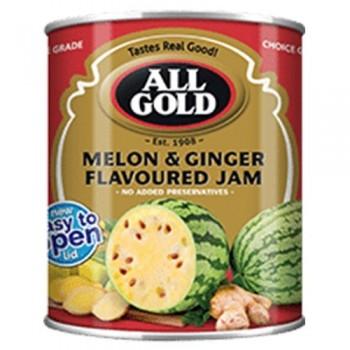 ALL GOLD MELON & GINGER JAM...