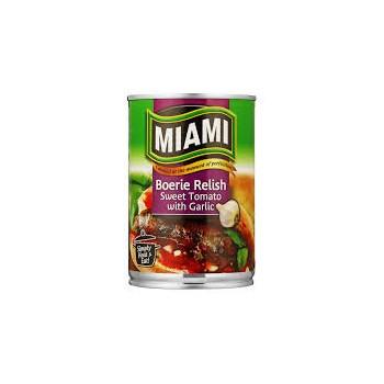 MIAMI - BRAAI RELISH ( garlic)