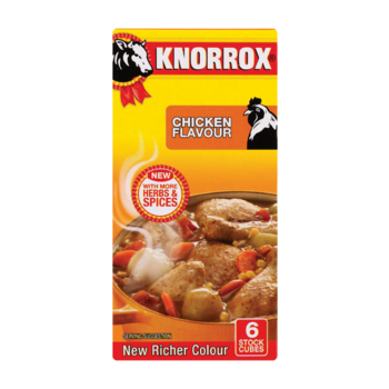 KNORROX Cubes Chicken 6's